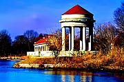 Bill Cannon - The Gazebo and Boathouse at Franklin Delano Roosevelt Park